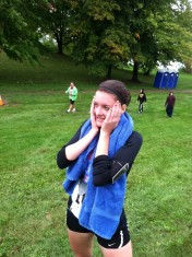 I smiled like this for days after finishing my first half marathon.