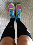 Received my ProCompression socks in the mail which means I get to run in my CEP compression socks for the first time ever!