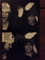 More photobooth fun (clearly unprepared here)