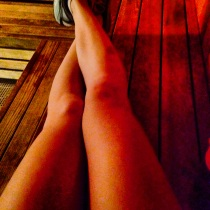 My new obsession (particularly since it's winter) = the sauna