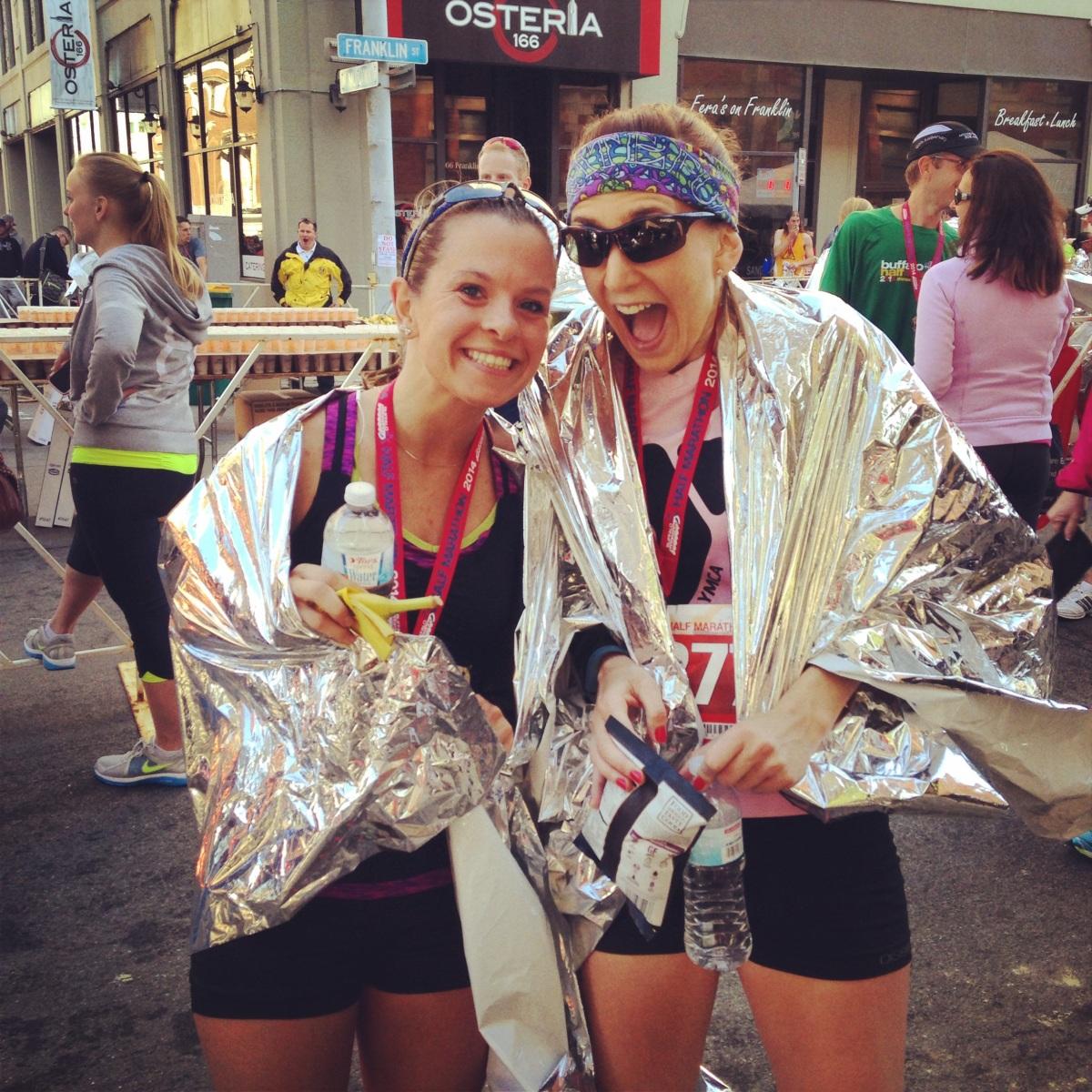 Buffalo Half Marathon [Spectating] Recap