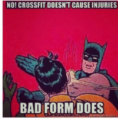 CrossFit Injury Meme