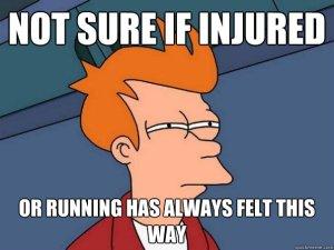 Injured Running