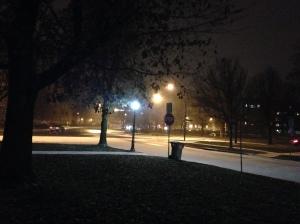 I love Upstate New York winter running. #snow