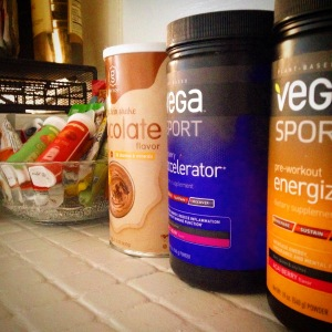 Gathering all my runner's nutrition for a strong, healthy 2015!