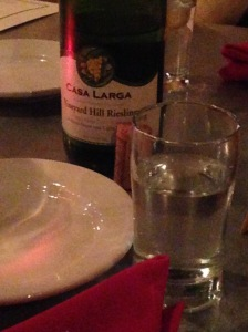I can't be the only person who photographs bottles of the wine they love when they're out at dinner, right? Right?