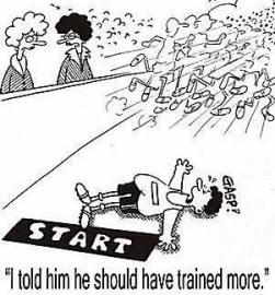 Trained Harder Cartoon