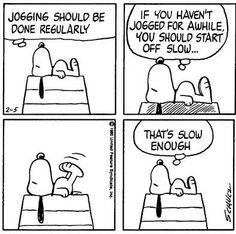 snoopy_jogging